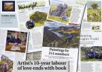 The Wainwrights in Colour press cuttings
