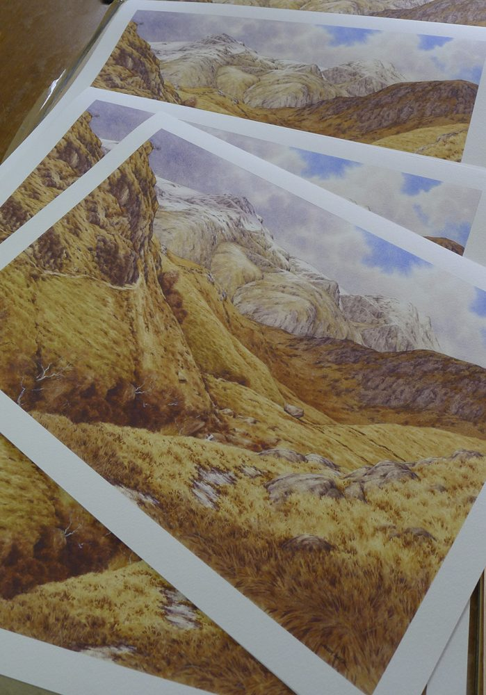 Scafell Pike prints