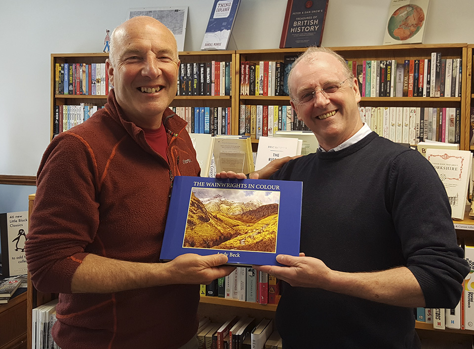 The Wainwrights in Colour book stockist