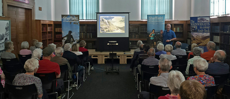 The Wainwrights in Colour talk Sheffield