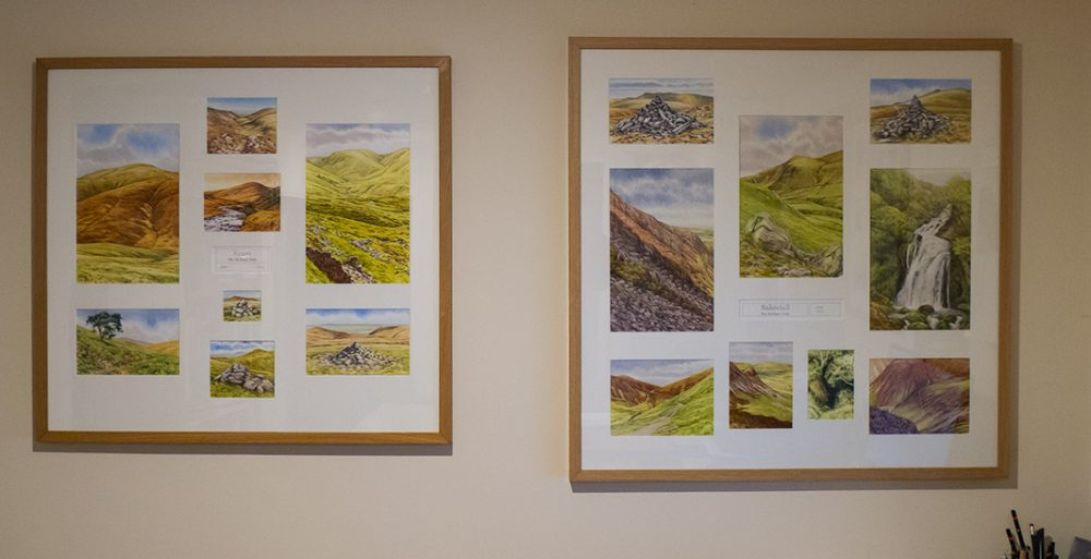 Knott and Bakestall, The Wainwrights in Colour, Andy Beck Artist.