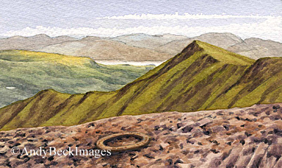 Blencathra summit ring