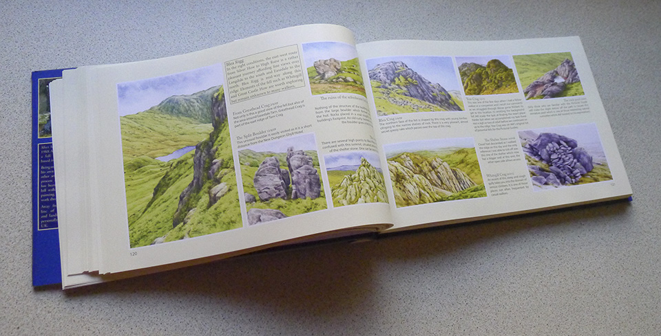 The Wainwrights in Colour Book inside view