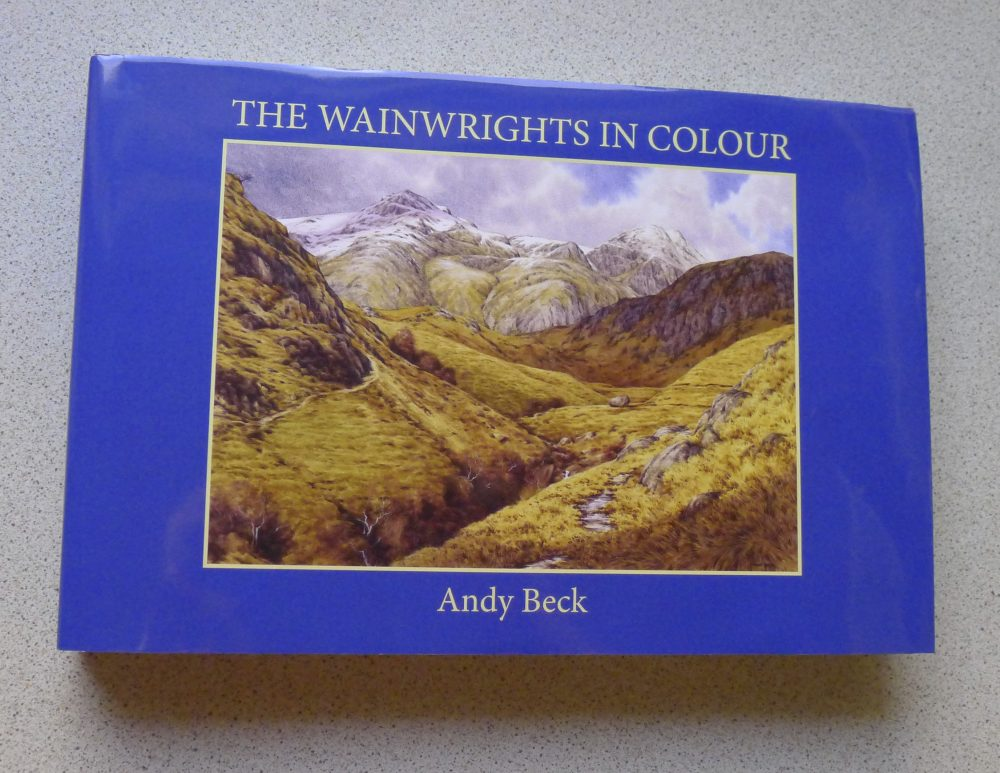 The Wainwrights in Colour Book outside view