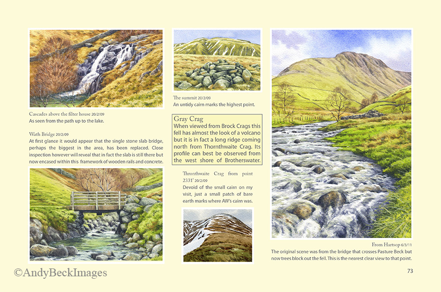 Wainwrights in Colour Gray Crag page