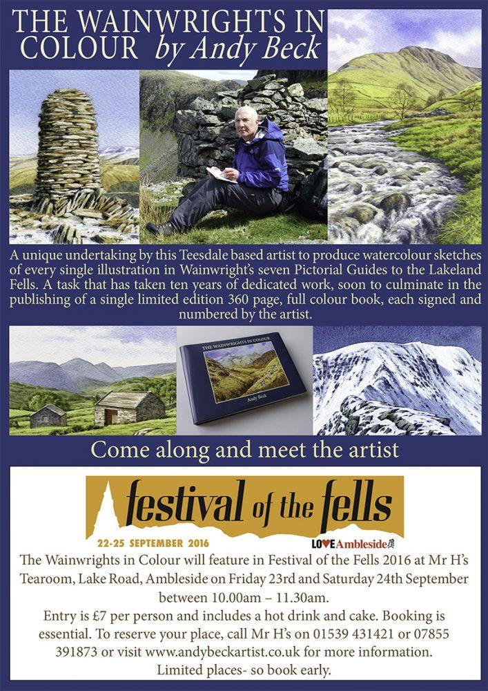 Festival of the Fells poster