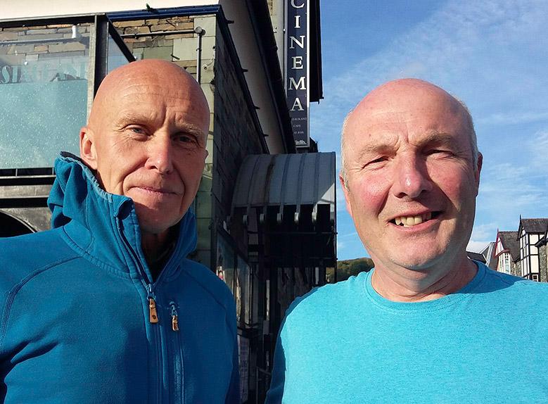 Alan Hinkes and Andy Beck