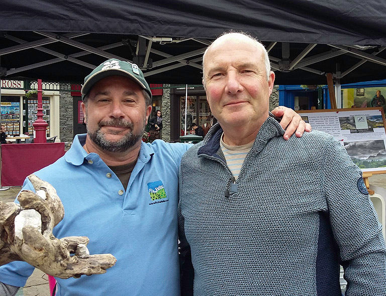 John Phoenix Hutchinson and Andy Beck