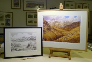 Wainwrights in Colour framed prints