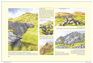 Calf Crag The Wainwrights in Colour