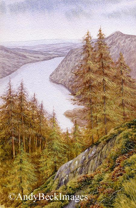 Ullswater from Glenridding Dodd