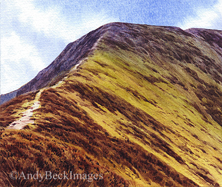 Sleet How, Grisedale Pike