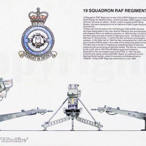19 Squadron RAF Regiment Rapier print