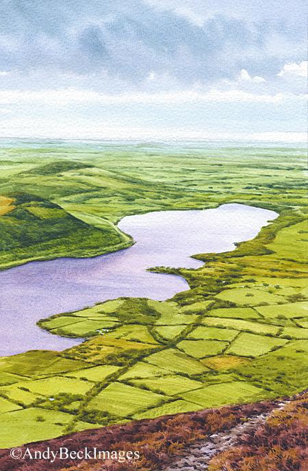 Bassenthwaite from Ullock Pike