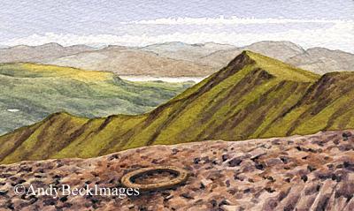 Blencathra summit ring