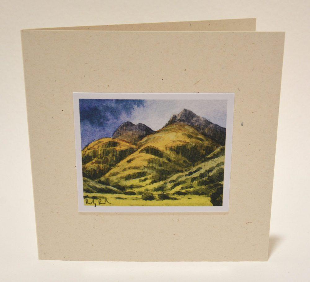 Langdale Pikes greeting card