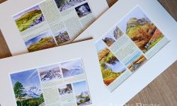 Wainwrights in Colour mounted pages