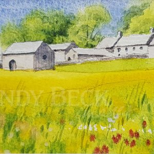 Hannahs Meadow watercolour sketch