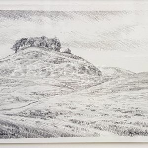 Kirkcarrion pencil sketch