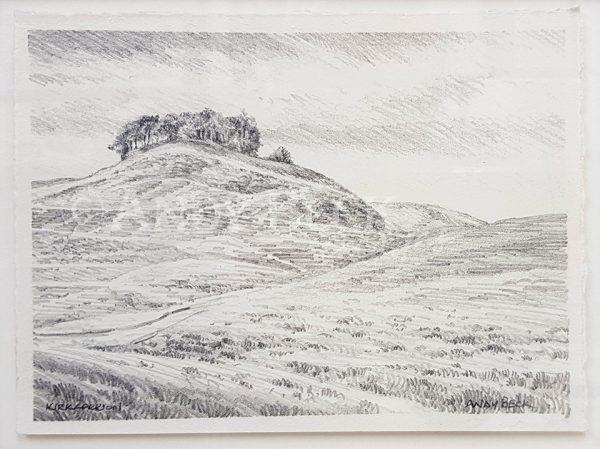 Kirkcarrion pencil sketch