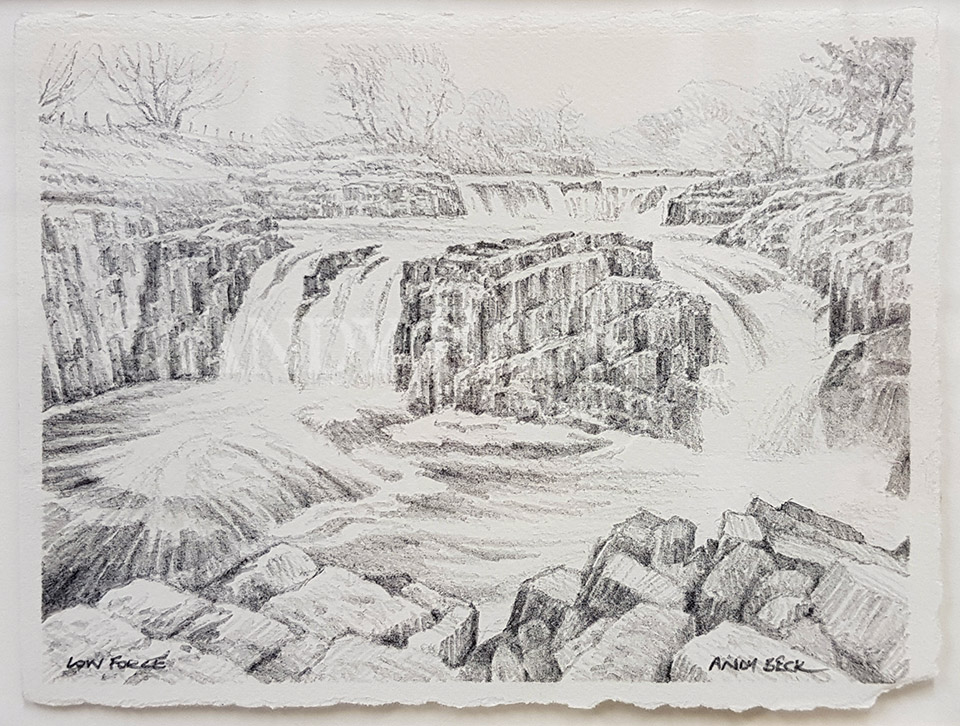 Low Force pencil sketch