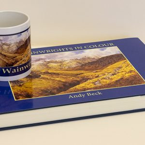 Wainwrights in Colour mug and book a