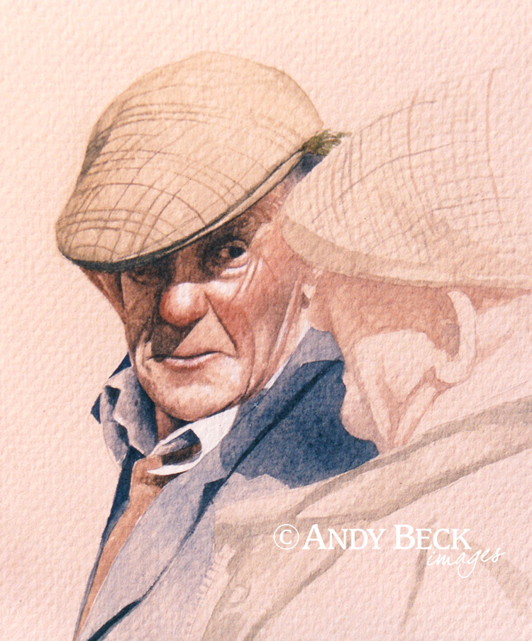 The Dalesman watercolour