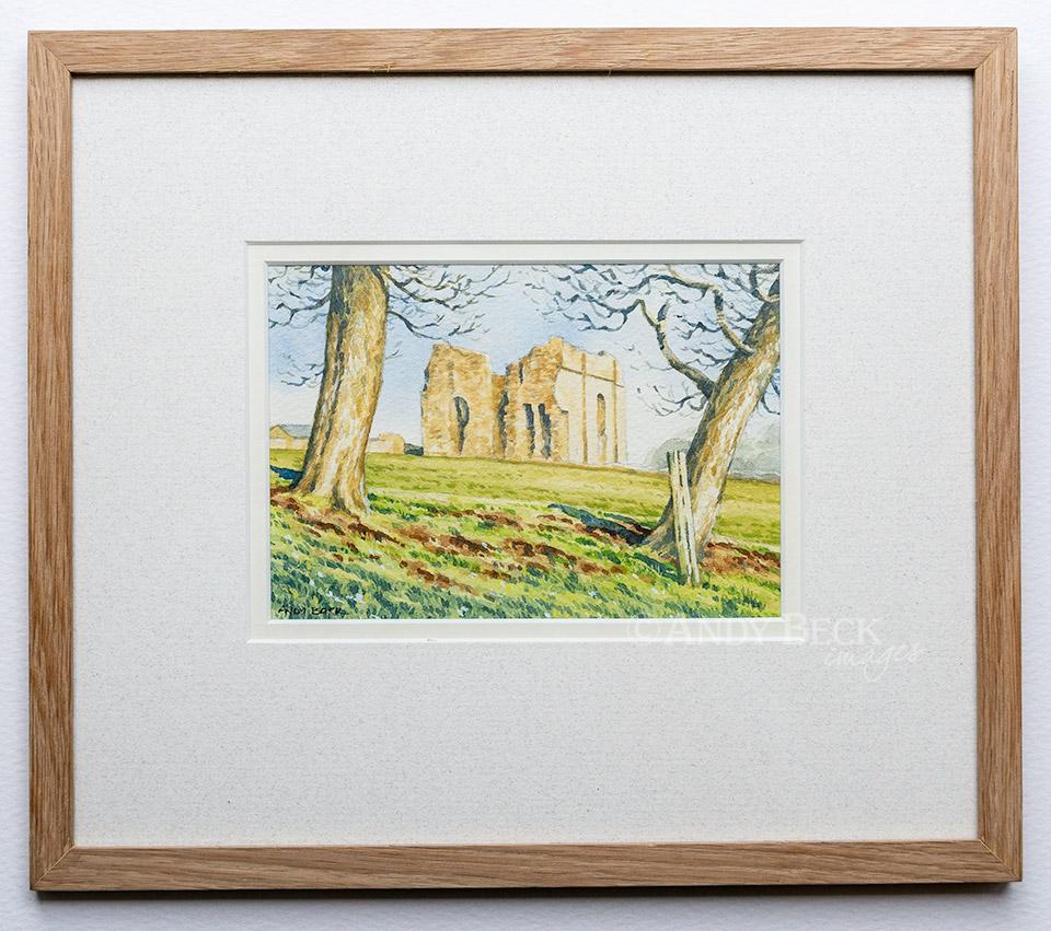 Bowes Castle Teesdale