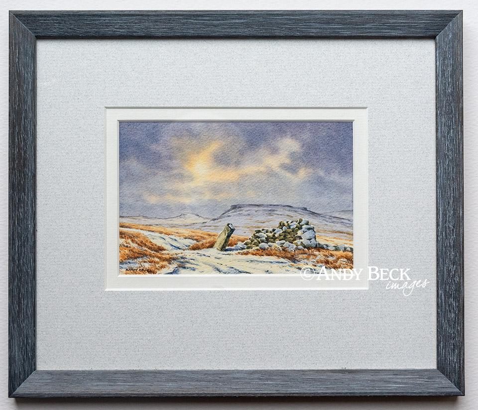 Goldsborough winter sky framed