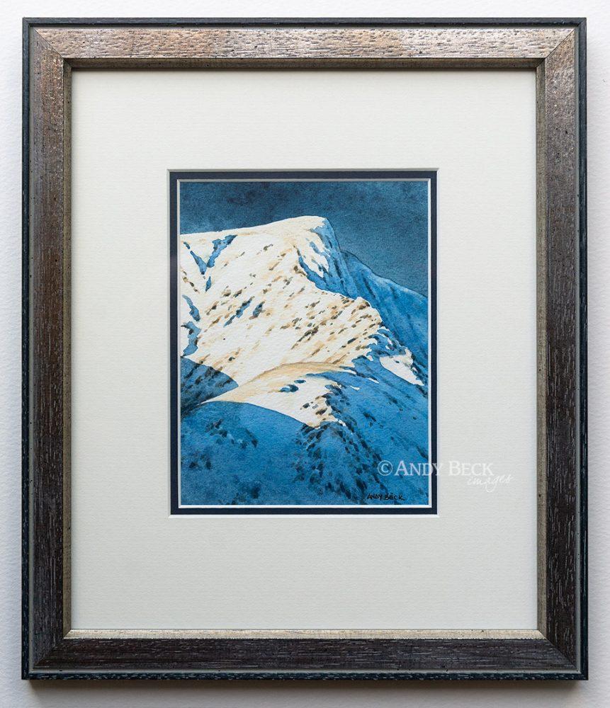 Sharp Edge Blencathra framed